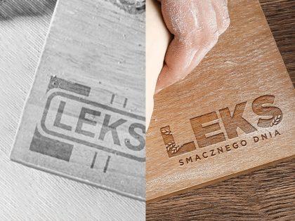 Nowe logo dla marki Leks