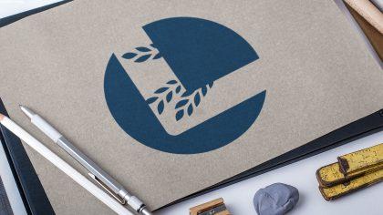 Sygnet logo LEKS zaprojektowany przez Pictorial