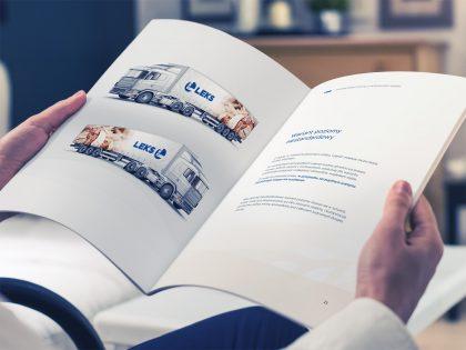 Brandbook marki Leks opracowany przez Pictorial