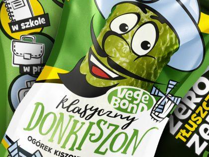 DonKichon - pojedynczy ogórek kiszony