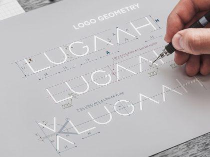 W Pictorial dokonaliśmy korekty geometrii logo Lugaah