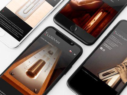 Responsywna witrynia internetowa zaprojektowana i wdrożona przez Pictorial dla marki Lugaah